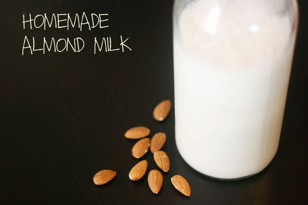 Sweet Homemade Almond Milk