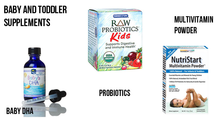 Baby and Toddler Supplements