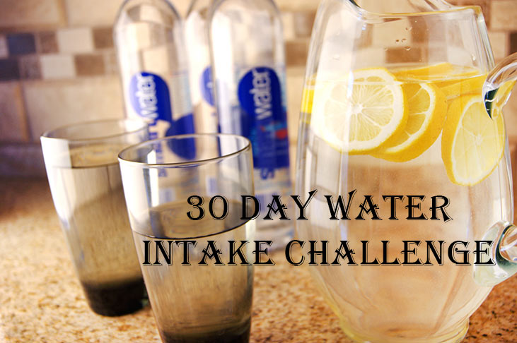 April 30 Day Water Intake Challenge