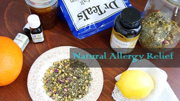 Natural Allergy Relief for Spring