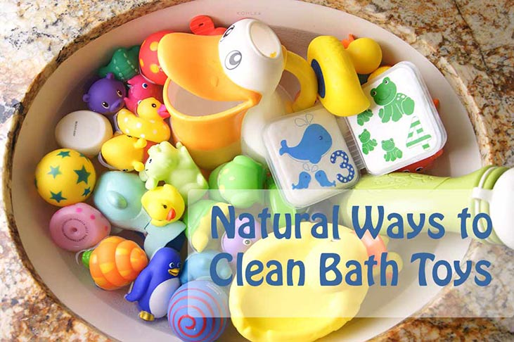 Naturally Cleaning Bath Toys