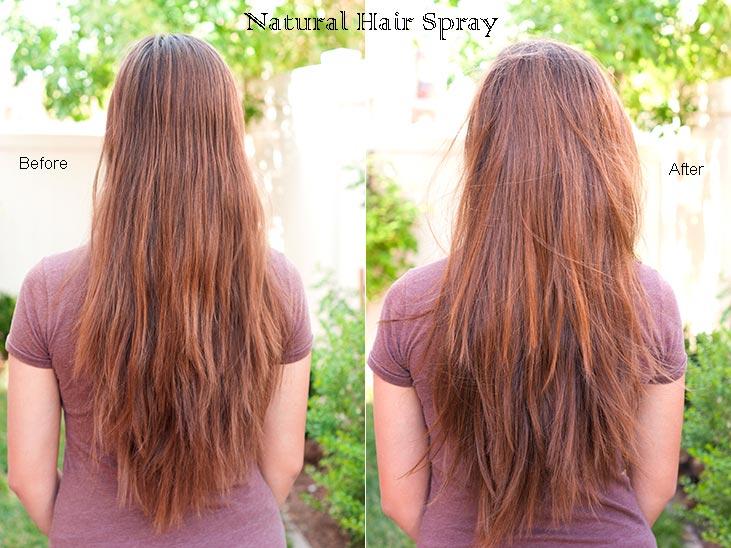 Natural DIY Hairspray