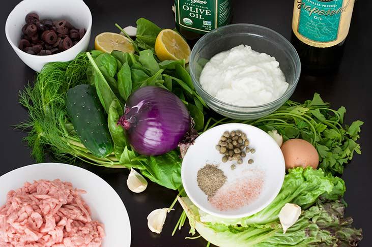 Lettuce Wrapped Turkey Sliders