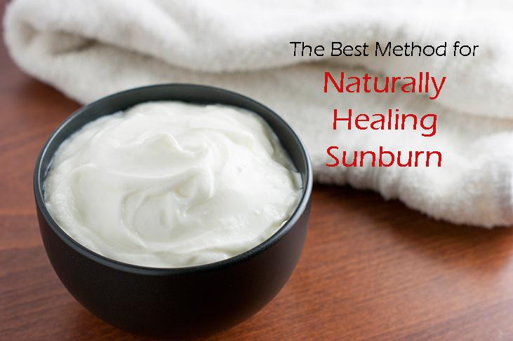 Naturally Heal Sunburn with….Yogurt