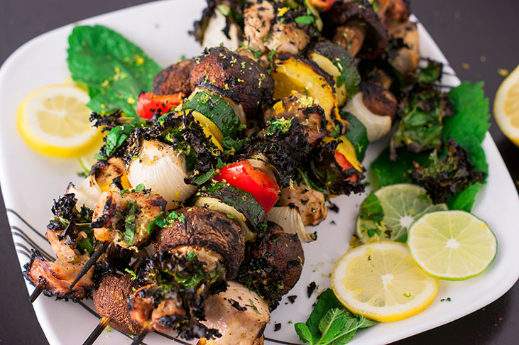 Zesty Citrus Chicken Kabobs