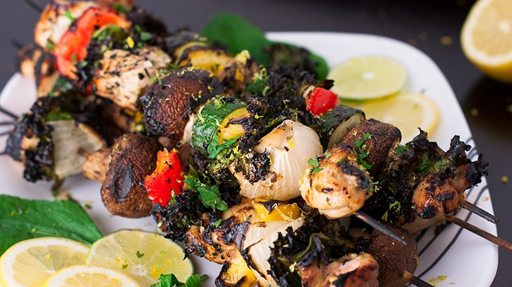Mouth Watering Zesty Citrus Chicken Kabobs