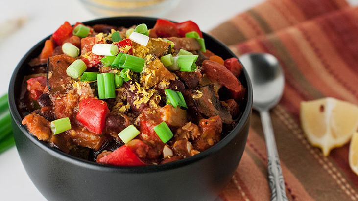 Aromatic Vegan Chili