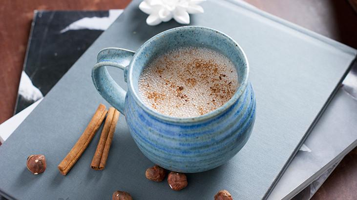 Dreamy Hazelnut Hot Chocolate-No Sugar & Vegan