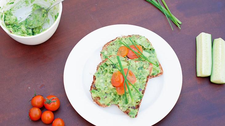 Avocado Toasts-Healthy, Simple Lunch Idea