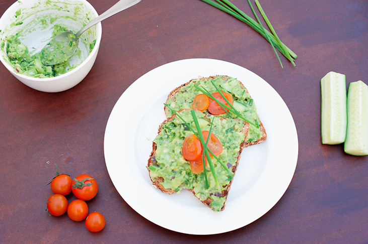 Avocado Toasts-Healthy, Simple Lunch Idea